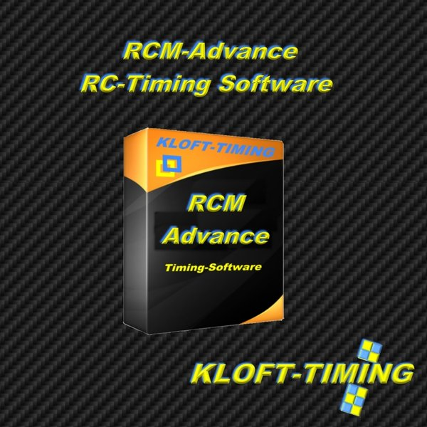 RCM Advance RC Car Timing Software
