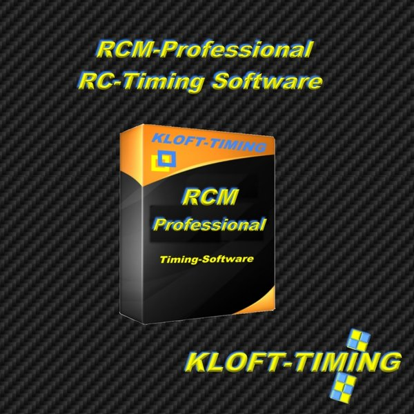 RCM Professional RC-Timing Software