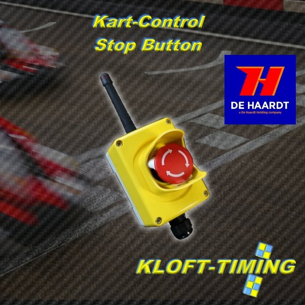 De-Haardt Xtra NOT- STOP Button