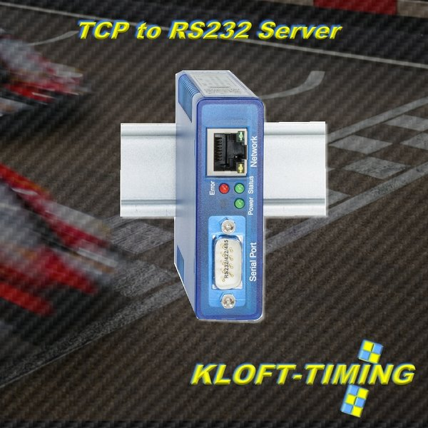 KLOFT-TIMING Connectionbox TCP-to-RS232