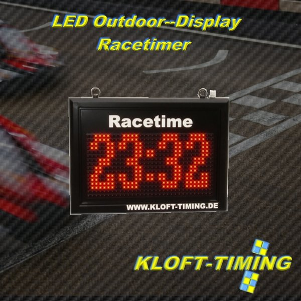 Racetimer LED Outdoor Display