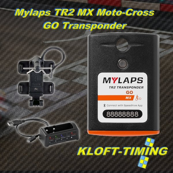 "TR2 Transponder MX Moto-Cross ""ohne Begrenzung"" No subscription"